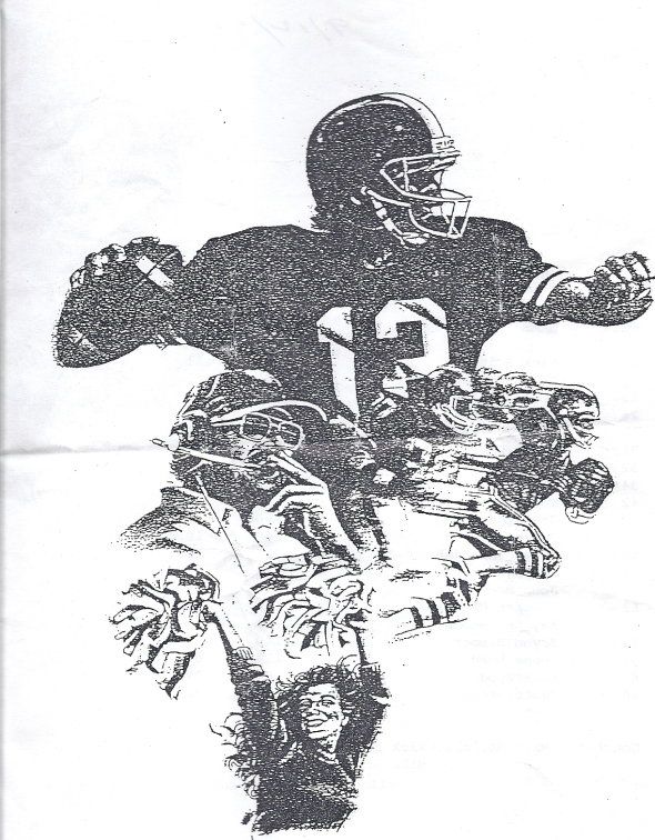 Front Cover of the 1997 Shidler High School Vs Wakita Football Game Program