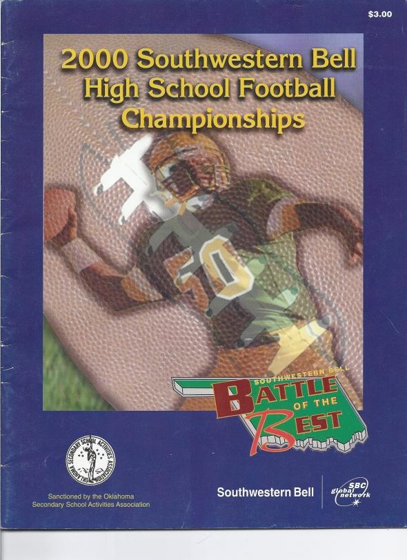 2000 Tonkawa Oklahoma Class A State Championship